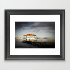 The Jetty Framed Art Print