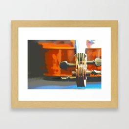 Cello Mood Framed Art Print