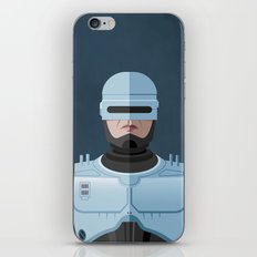 Dead or alive, you're coming with me (RoboCop) iPhone & iPod Skin
