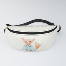 Hipster Fox Fanny Pack