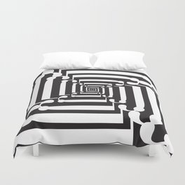 """Spin - The Didot """"j"""" Project Duvet Cover"""