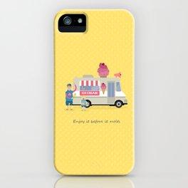 Love ice cream iPhone Case