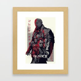 Blade II • Vector Art Framed Art Print