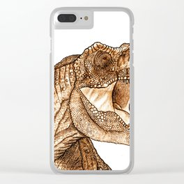 Dino Clear iPhone Case