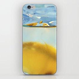 Refreshing Lemon Drink iPhone Skin