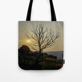 Lighting My Branches Tote Bag