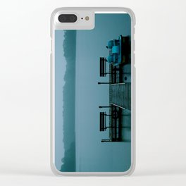 Hunky Dory Dock Clear iPhone Case