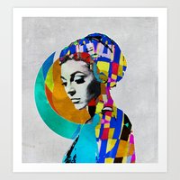 pop art Art Prints featuring Pop by Steve W Schwartz Art