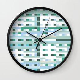 Window Scene Wall Clock
