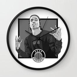 A$AP Rocky Wall Clock