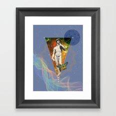 POP David Framed Art Print