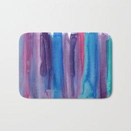 Brushed Watercolor Bath Mat