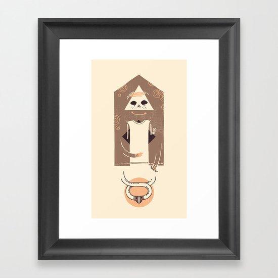 Bjorn Framed Art Print