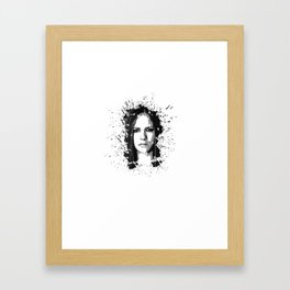 avril lavigne desain 002 Framed Art Print
