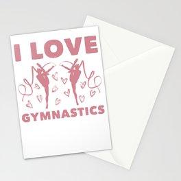 Love Gymnastics Stationery Cards
