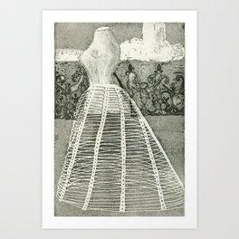 Crinoline Art Print
