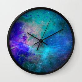 Blue Armonia Wall Clock
