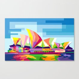 Sydney Opera House Canvas Print