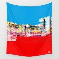 bauhaus Wall Tapestries featuring Bauhaus · Das Bauhaus 1 by Marko Köppe