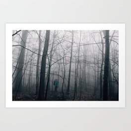Kyle in the Catskills Art Print