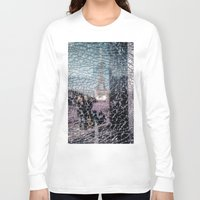 eiffel Long Sleeve T-shirts featuring Tour Eiffel by Sébastien BOUVIER