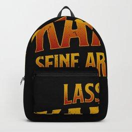 Let Karma do its work Backpack