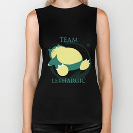 Team Lethargic Biker Tank
