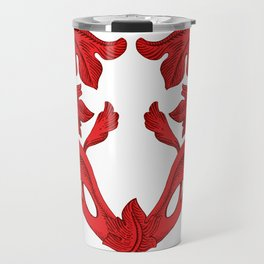heart red Travel Mug