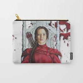 "Katniss Everdeen Mockingjay Part 2 ""I Kill Snow"" | Drawing Carry-All Pouch"