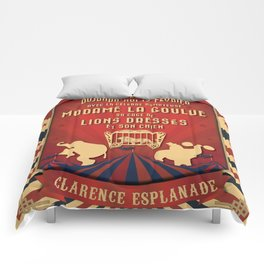 CIRQUE PRICE ROUGE Comforters