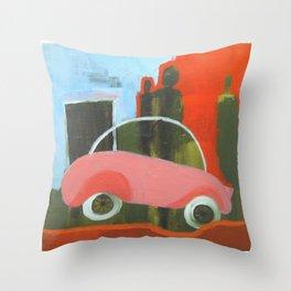 Road Tax Throw Pillow