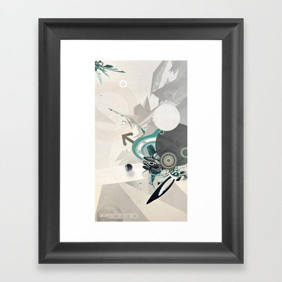 ASCEND (version zero) Framed Art Print