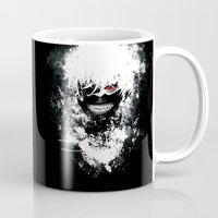 tokyo ghoul Mugs featuring Kaneki Tokyo Ghoul by Prince Of Darkness