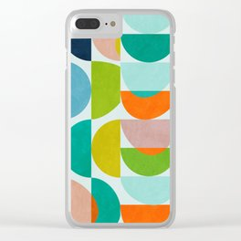shapes abstract III Clear iPhone Case