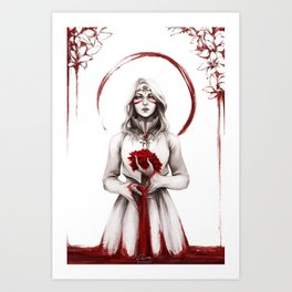 Blood for the Blood Lily - FFXIV Art Print