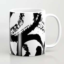 Dance Black and White Coffee Mug