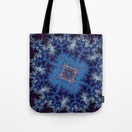 Fractal Square Tote Bag