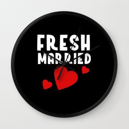 Just Married JGA Gift Idea Wall Clock