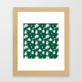 Camomiles summer Framed Art Print