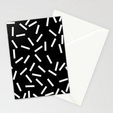 Sprinkles Black Stationery Cards