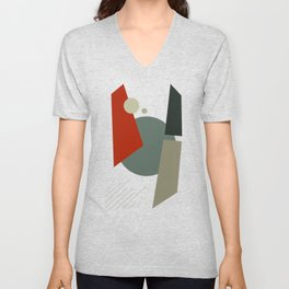 BAUHAUS GOING TO MARS Unisex V-Neck
