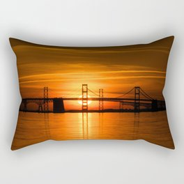 The Chesapeake Bay Bridge Rectangular Pillow