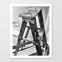 Painter's Ladder Canvas Print