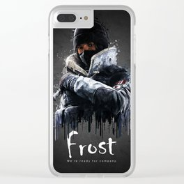 Frost Clear iPhone Case