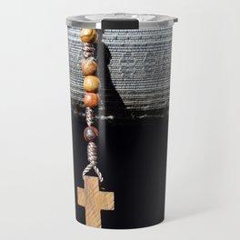 Roman catholic rosary Travel Mug