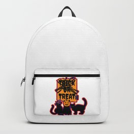 Trick or Treats Spooky Cats Backpack