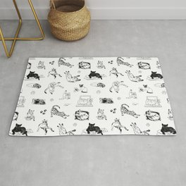 Cat Things Rug