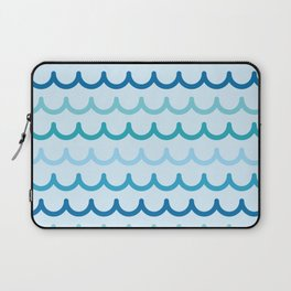 Wave Pattern Laptop Sleeve