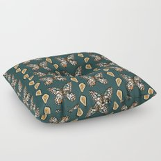 Mary's Butterfly Garden Floor Pillow