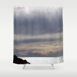 Raining Sunlight Shower Curtain